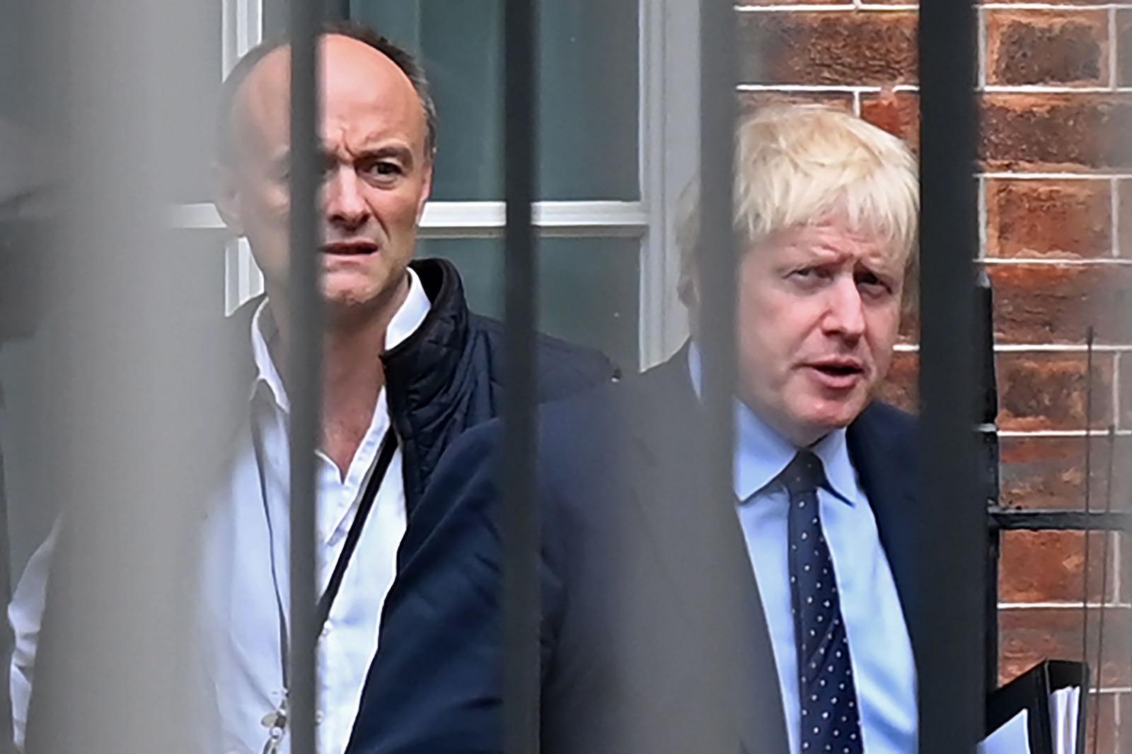 Cummings with Boris Johnson