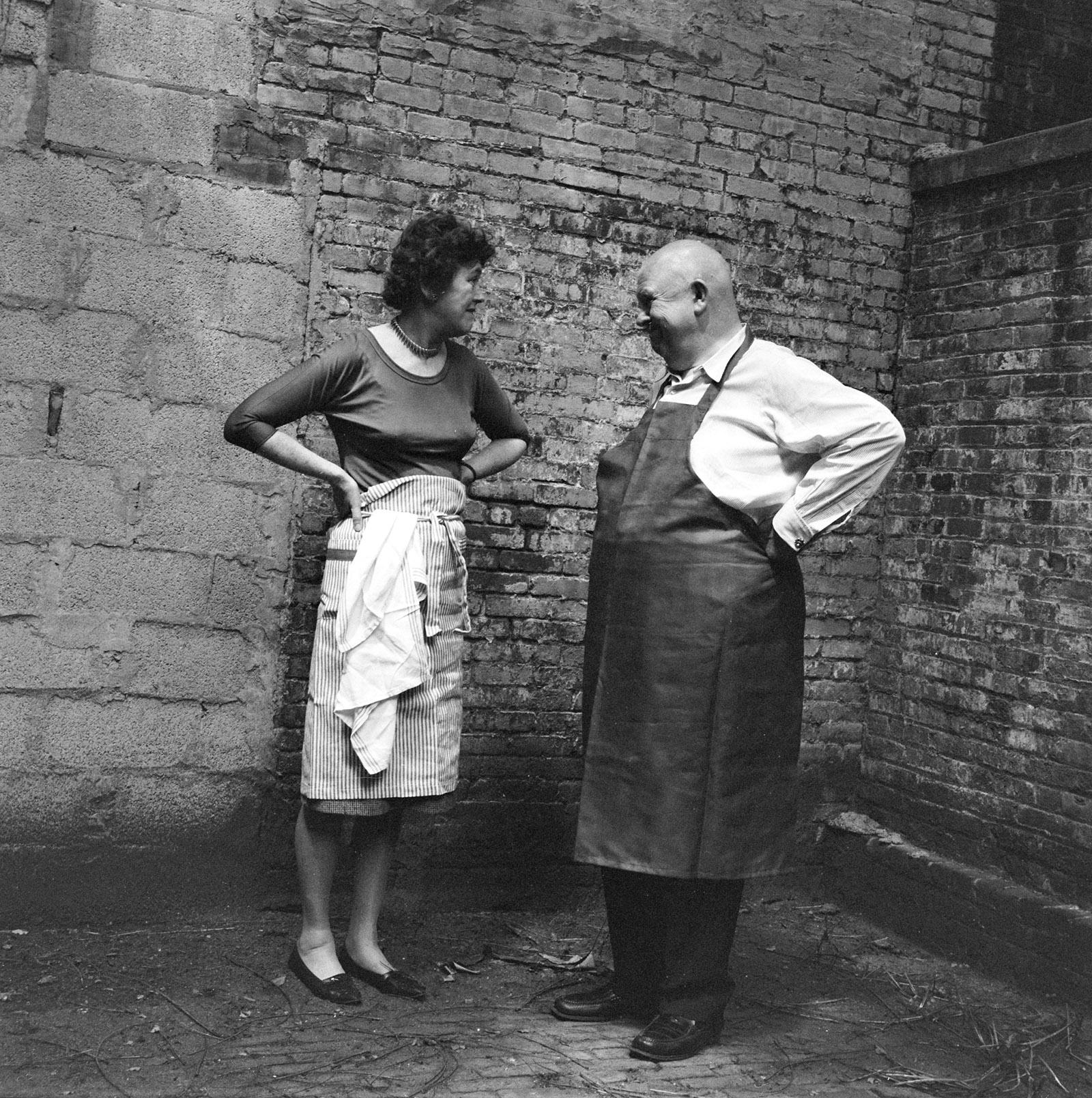Julia Child and James Beard