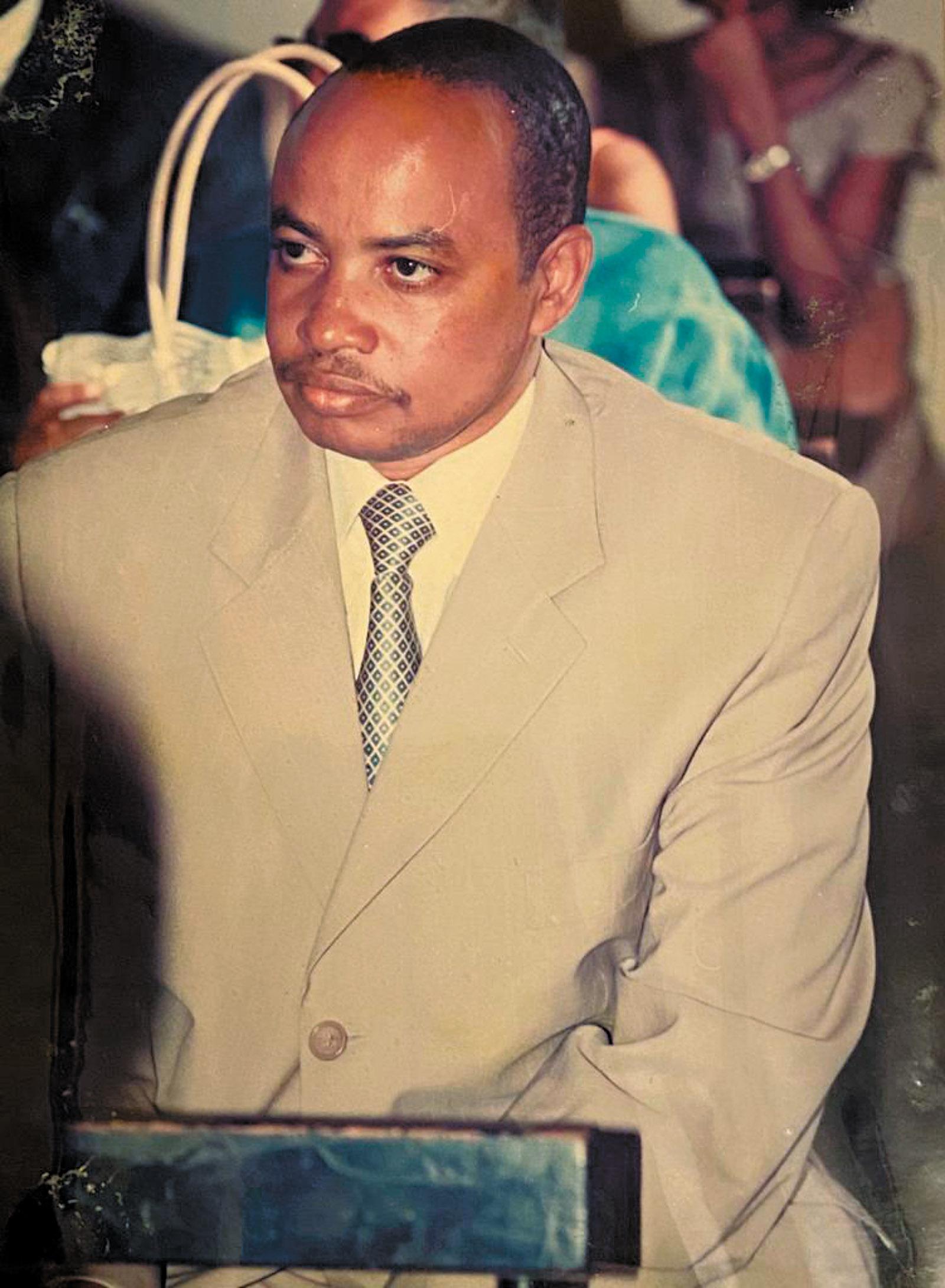 Rwandan intelligence chief Patrick Karegeya