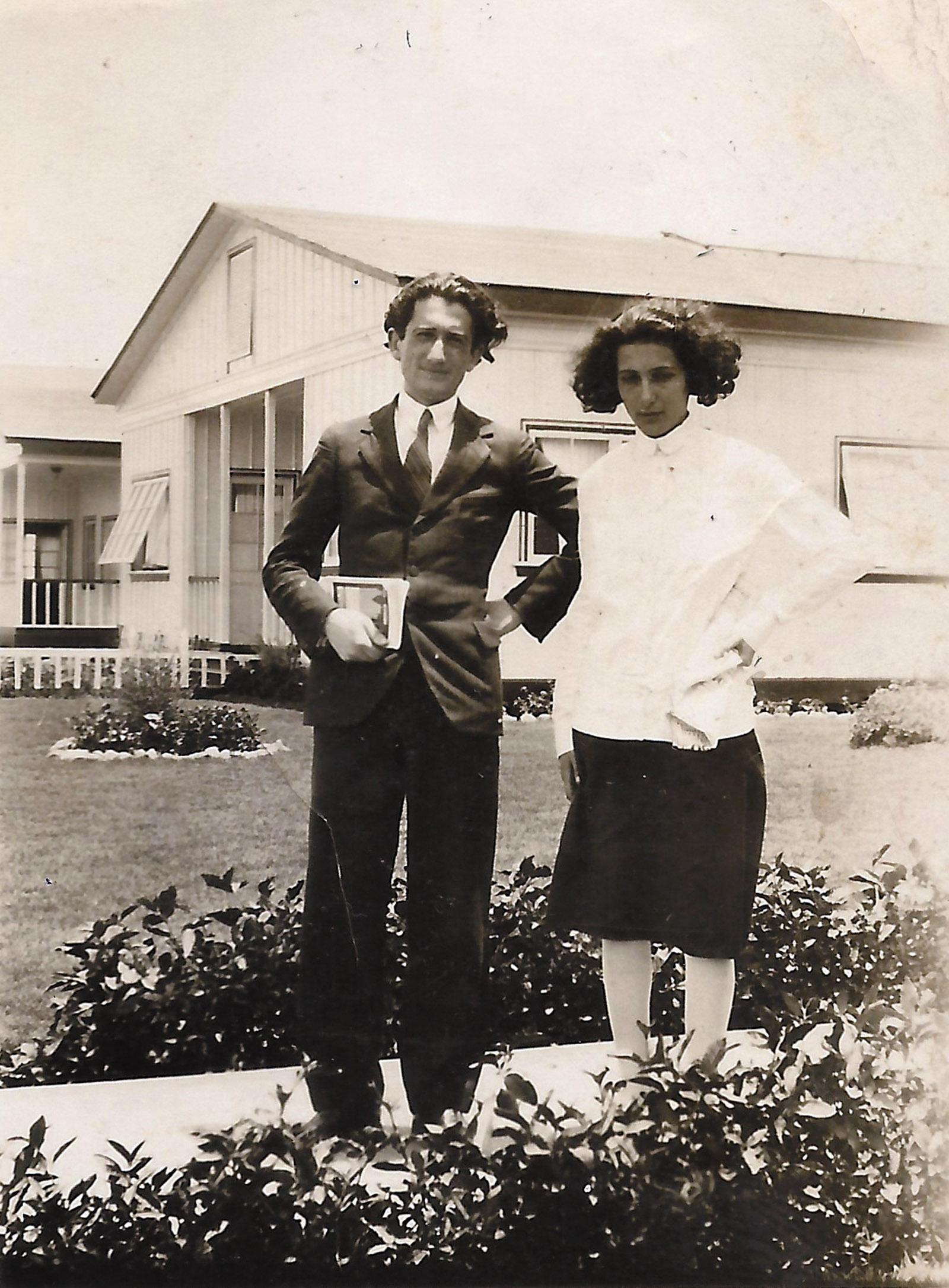 Claudio Lomnitz's grandparents Misha Adler and Noemí Milstein