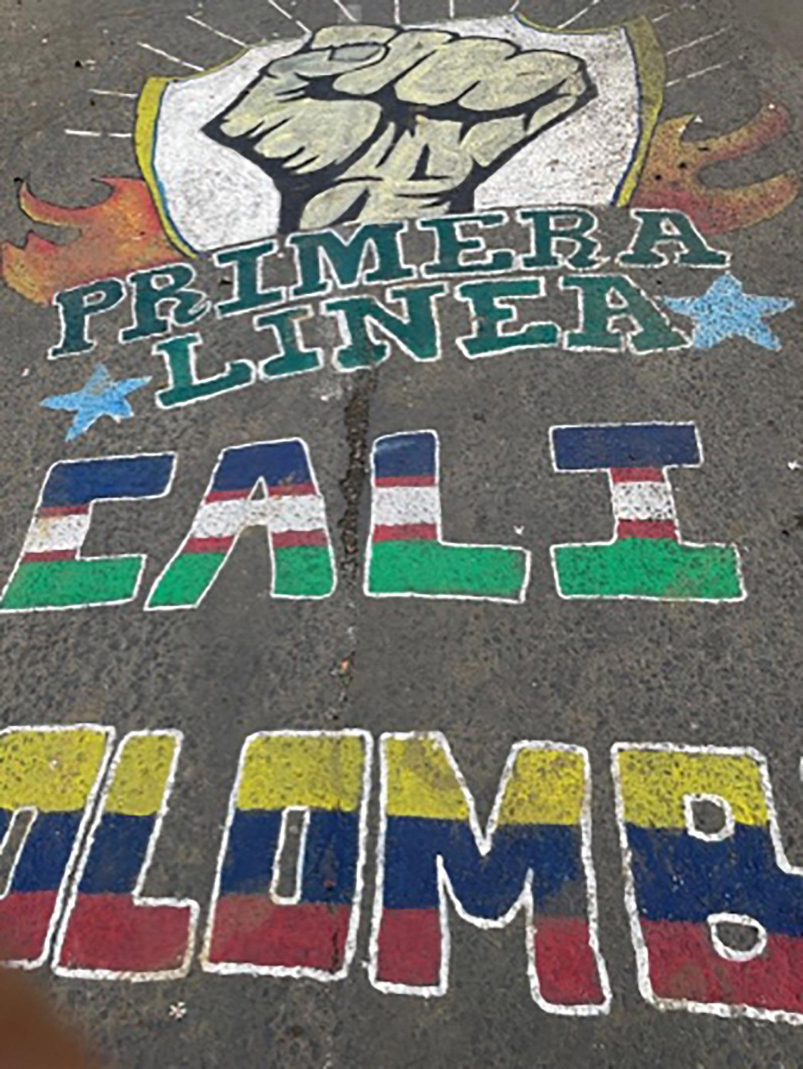 Puerto Resistencia, Cali, Colombia, May 2021