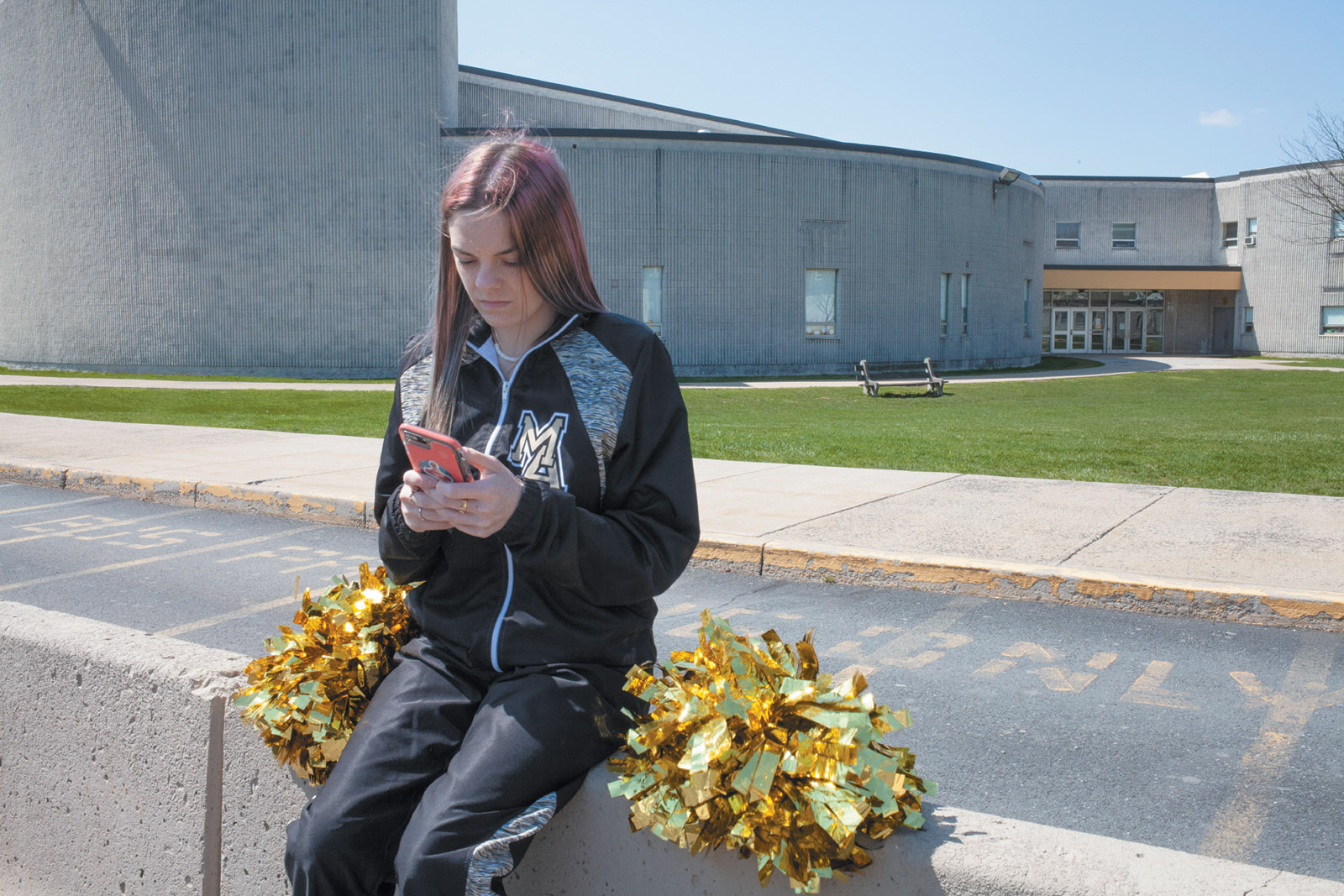 Brandi Levy, a former cheerleader at Mahanoy Area High School and the plaintiff in the Supreme Court free speech case Mahanoy Area School District v. B.L.