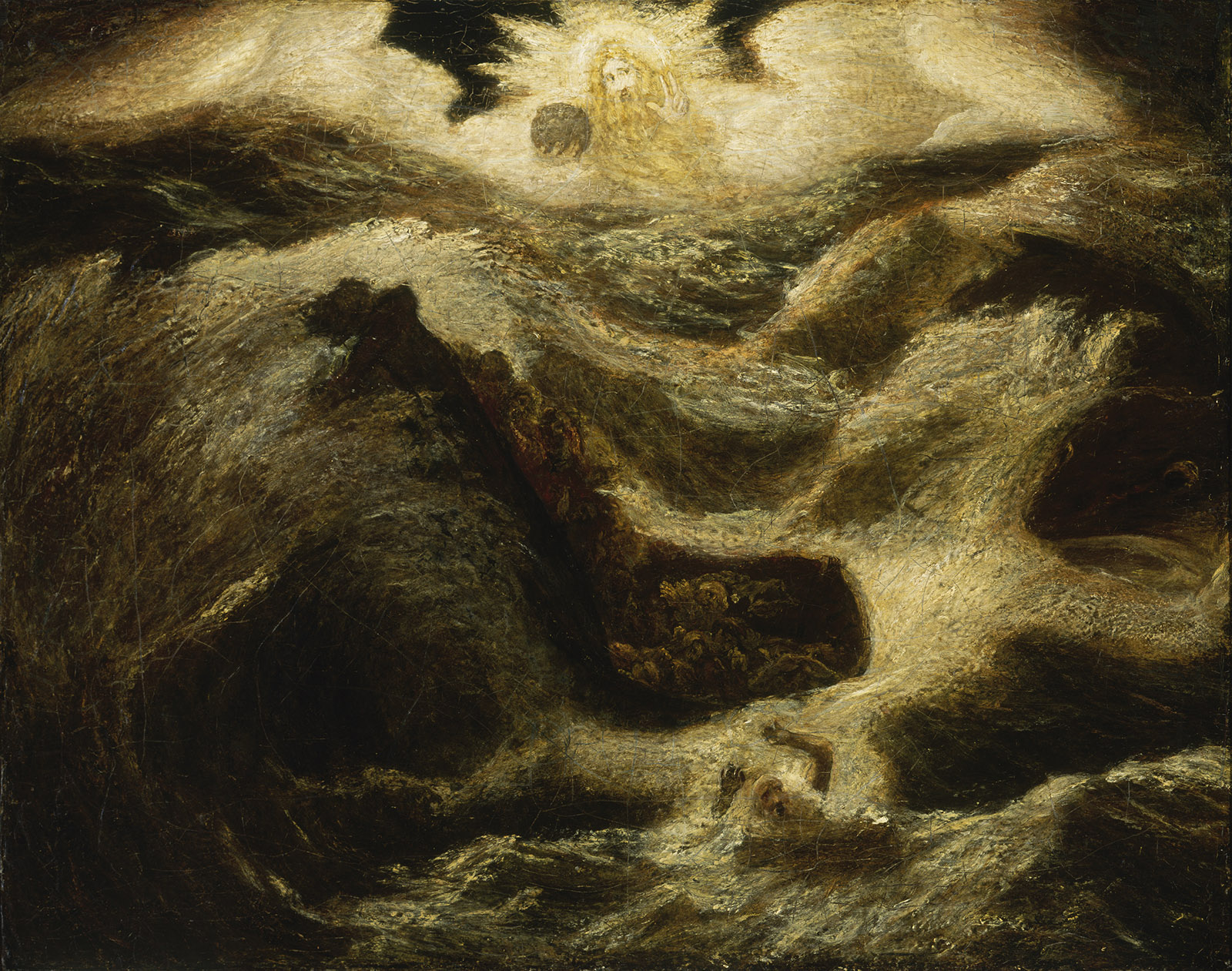 Jonah, circa 1885–1895; painting by Albert Pinkham Ryder