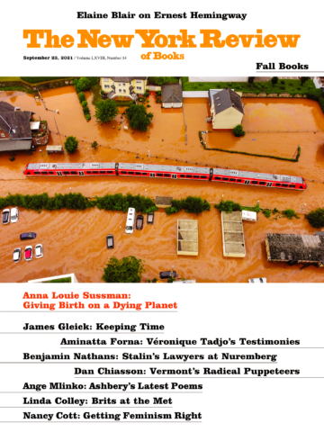 Image of the September 23, 2021 issue cover.