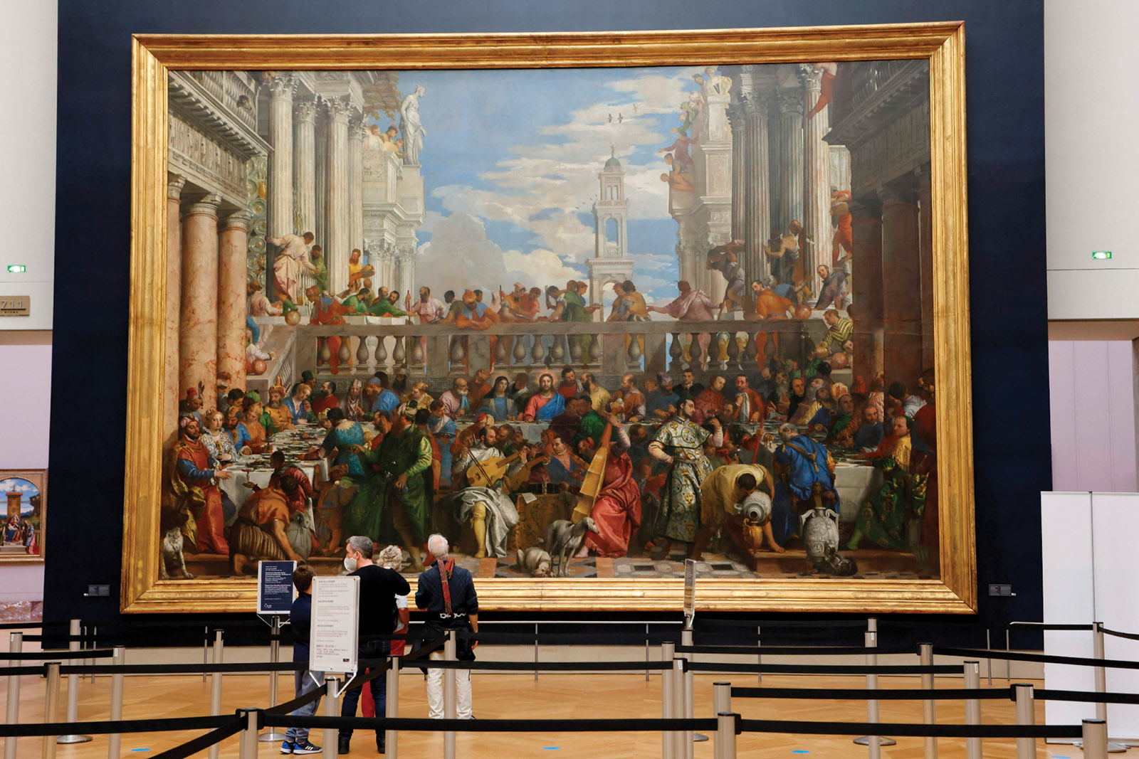 Paolo Veronese's The Wedding Feast at Cana in the Louvre